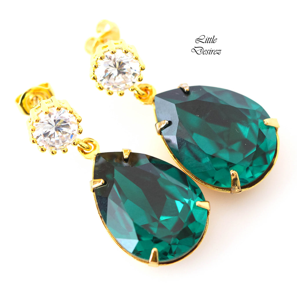 Emerald Earrings EM-31
