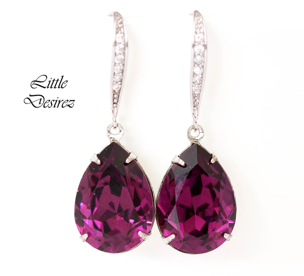 Purple Jewelry Set AM-31