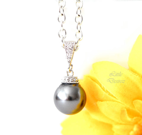 Bridesmaid Pearl Necklace P44