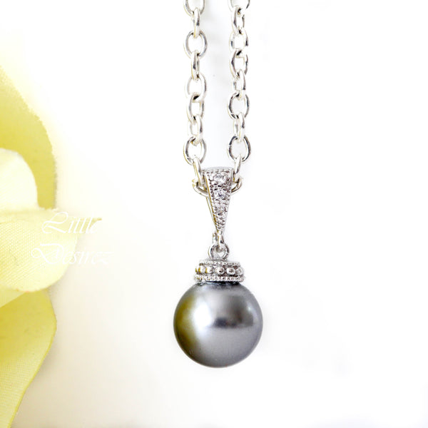 Bridesmaid Pearl Necklace P44N