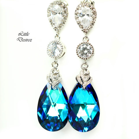 Bridal Chandelier Earrings BB-32