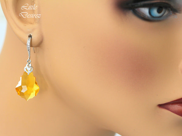 Swarovski Earrings Sunflower Earrings LT-30