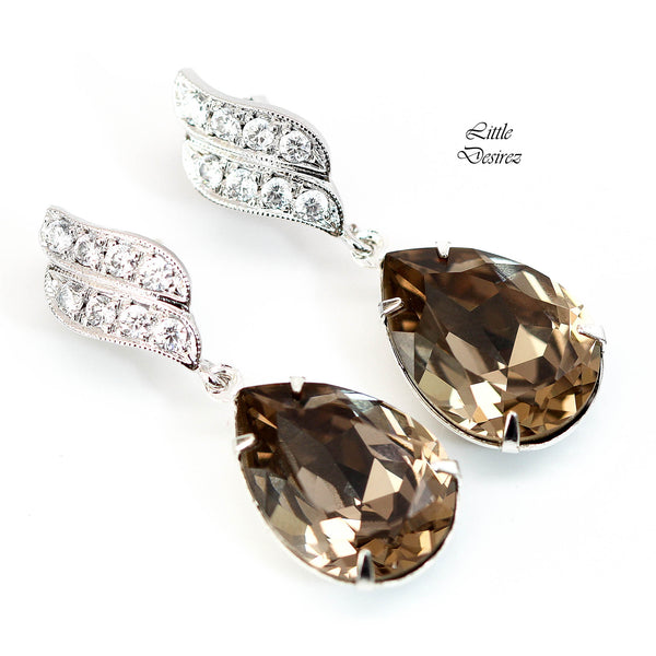 Dangle Earrings Swarovski Crystal GB-31