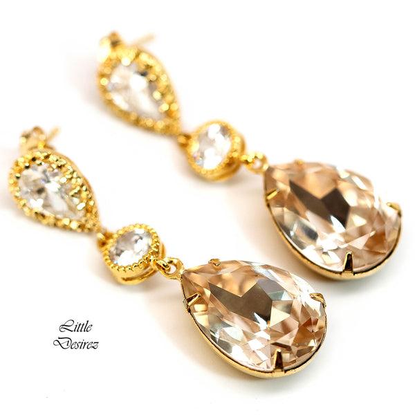 Champagne Jewelry Crystal Jewelry CH-31