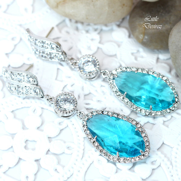 Teal Blue Jewelry Set TB-40