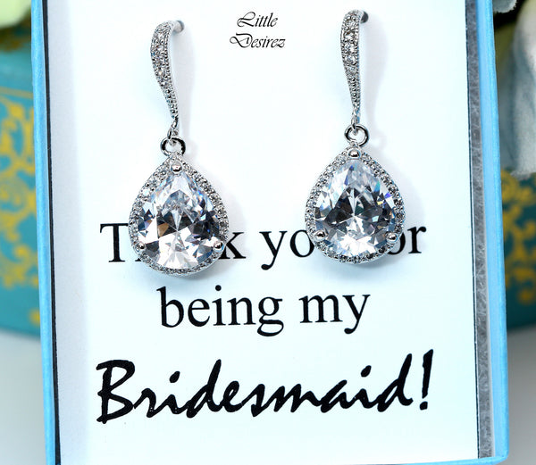 Cubic Zirconia Earrings SPARKLE