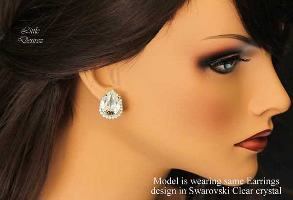 Crystal Stud Earrings BP-31