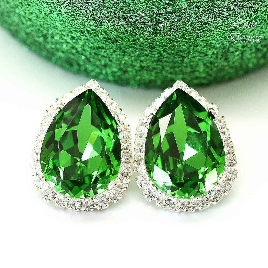 Green Earrings FG-31
