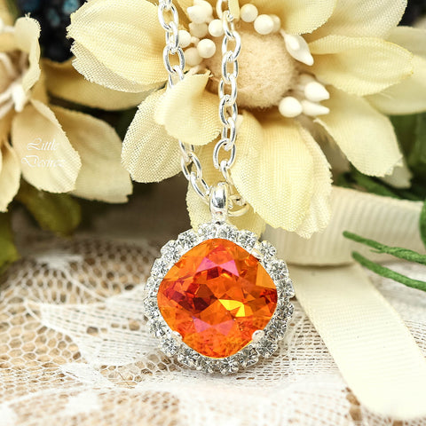 Orange Pink Necklace Astral Pink AP-50