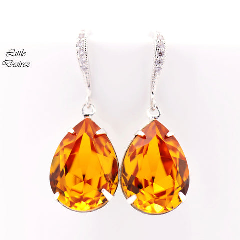 Topaz Earrings TO-31