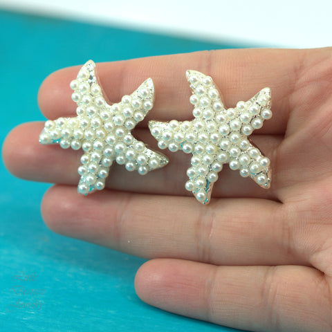 Starfish Pearl Stud Earrings KAI