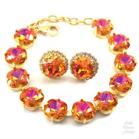 Swarovski Bracelet and Earrings Set AP-50