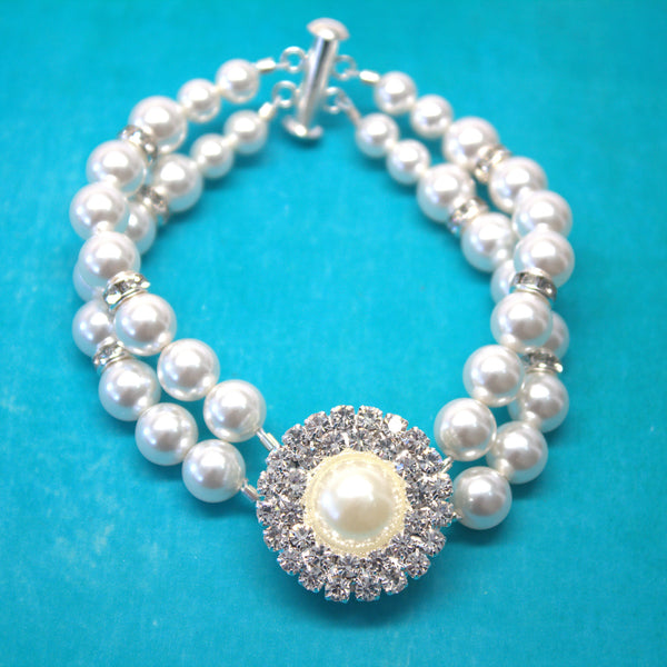 Pearl Bridal Necklace GRACE