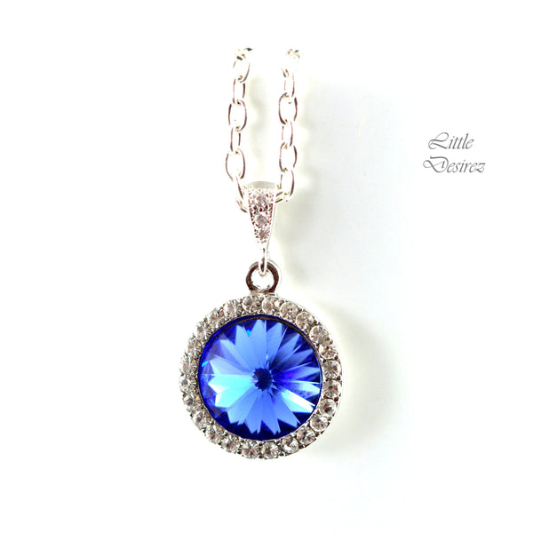 Blue Jewelry Set Crystal Jewelry SP-34