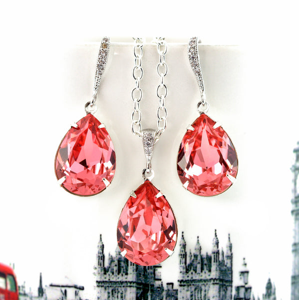 Coral Jewelry Set CO-31