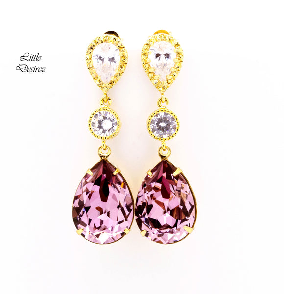 Pink & Gold Earrings BP31PC