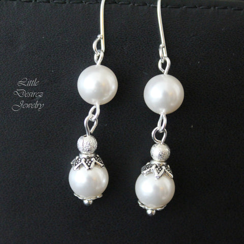 Swarovski Pearl Earrings SERENA