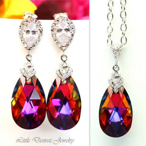 Swarovski Volcano Jewelry Colorful Jewelry VO-32