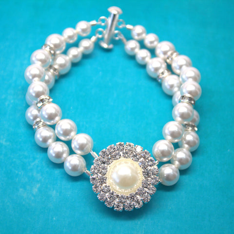 Wedding Pearl Bracelet GRACE