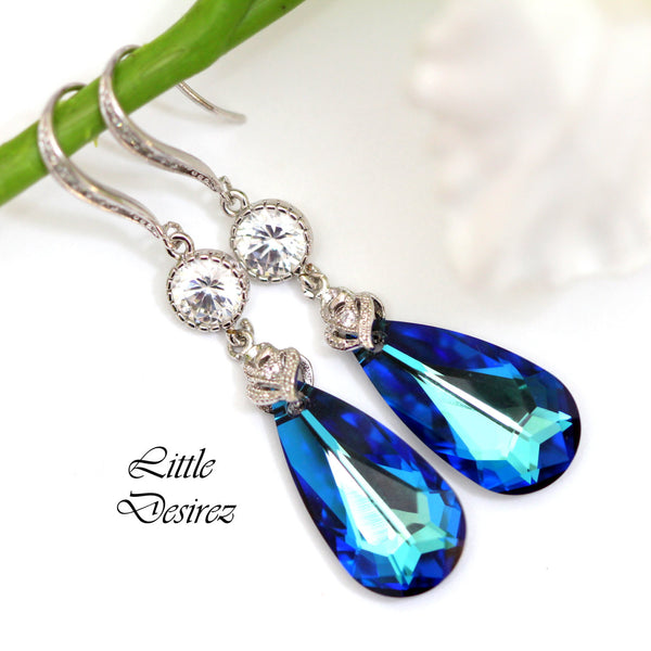 Swarovski Wedding Jewelry Bermuda Blue BB-33