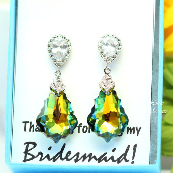 Swarovski Earrings Baroque Crystal SA-30