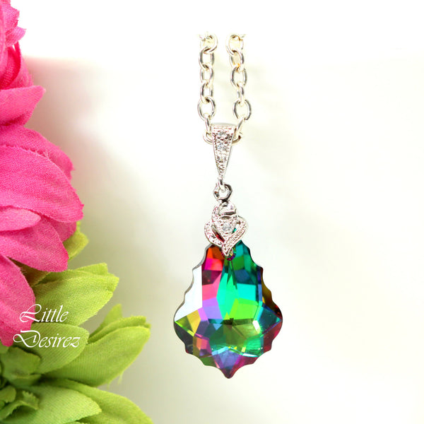 Swarovski Baroque Crystal Necklace EL-30