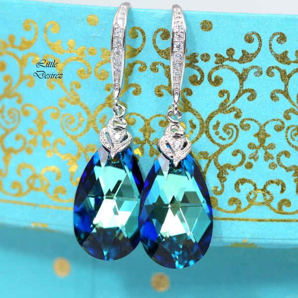 Blue Bridal Jewelry Set BB-32