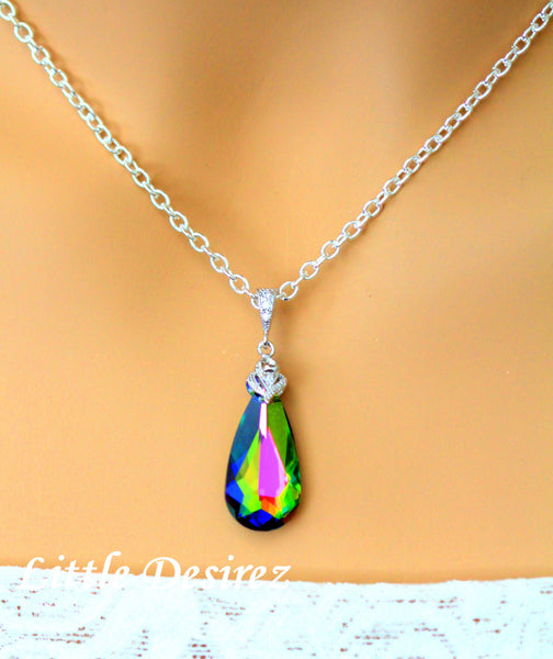 Swarovski Pendant Necklace Vitrail Medium VM-33