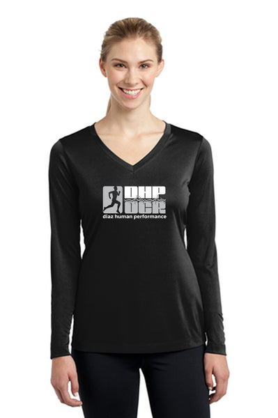 DHP OCR Sport-Tek Women's Long Sleeve V-Neck Tee Pre-Order