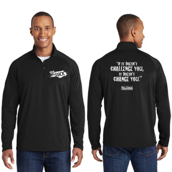 The Suck Sport-Tek Mens 1/2-Zip Pullover Pre-Order (Black only)