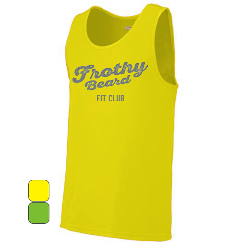 Frothy Beard - Men's Augusta Wicking Tank Top Pre-Order