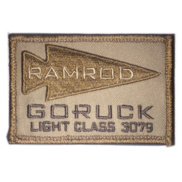 Go Ruck Tactical Patches