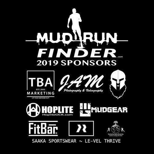 CLEARANCE ITEM - Mud Run Finder MudGear Men's Fitted Race Jersey Short Sleeve