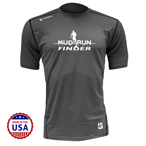 Mud Run Finder MudGear Men's Fitted Race Jersey Short Sleeve v3 Pre-Order