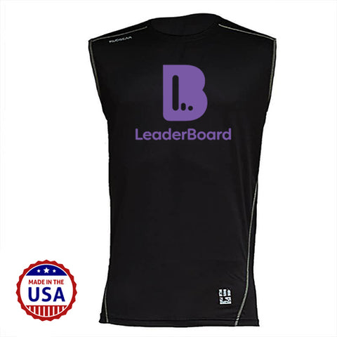 LeaderBoard MudGear Men's Fitted Race Jersey v3 Sleeveless Pre-Order