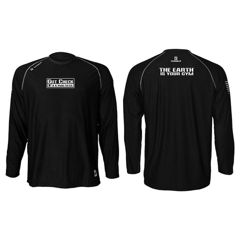 Gut Check Fitness MudGear Unisex Loose Tee Long Sleeve Pre-Order