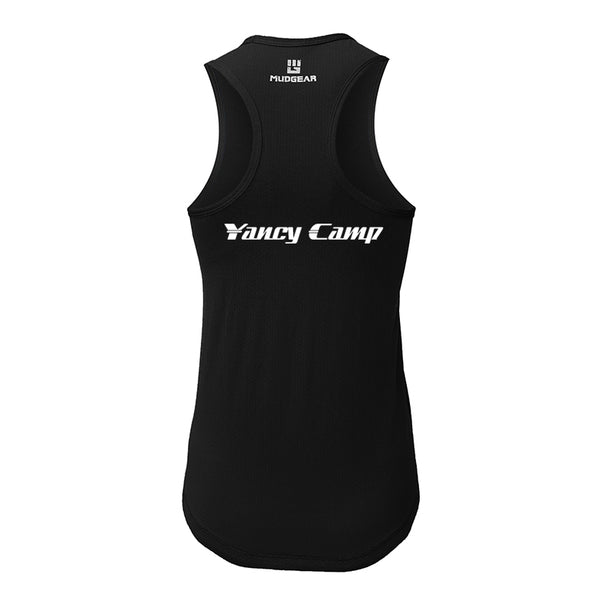 Yancy Camp MudGear Women's Performance Racerback Tank Pre-Order
