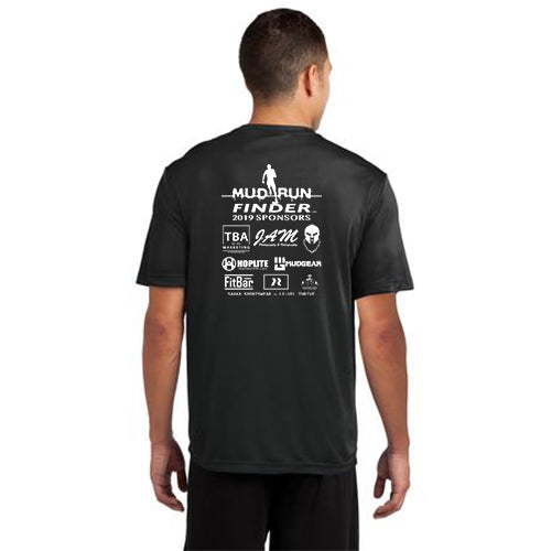 Mud Run Finder Sport-Tek Men's Adult Competitor Tee Short Sleeves Pre-Order