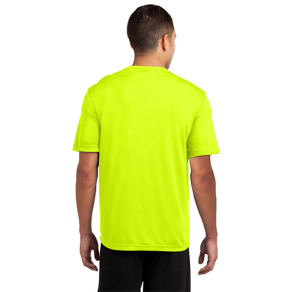Hope Valley Ruck Club Sport-Tek Men's Short Sleeve Shirt (Neon Yellow) Pre-Order