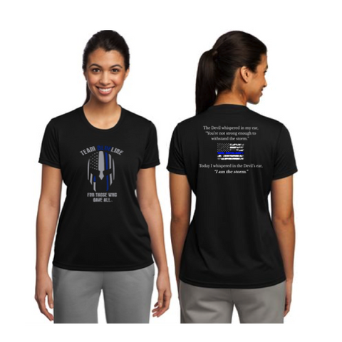 Team Blue Line Sport-Tek Ladies Competitor Tee Short Sleeve Pre-Order