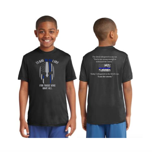 Team Blue Line Sport-Tek Youth Competitor Tee Short Sleeve Pre-Order