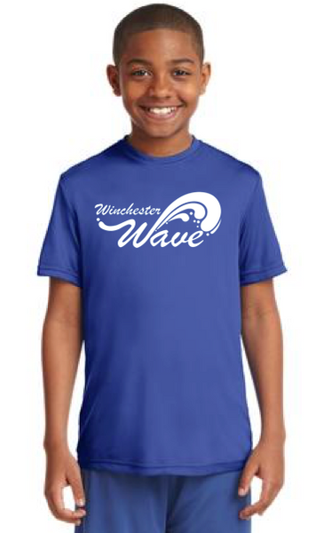 Winchester Wave - Youth Sport-Tek Competitor Tee Pre-Order