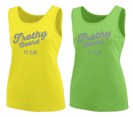 Frothy Beard - Women's Augusta Wicking Tank Top Pre-Order