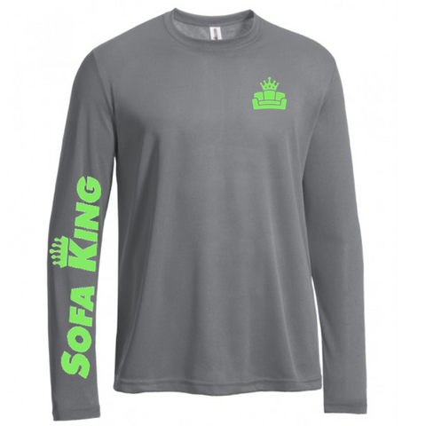 Sofa King Elite - Men's Long Sleeve Tec Tee Pre-Order