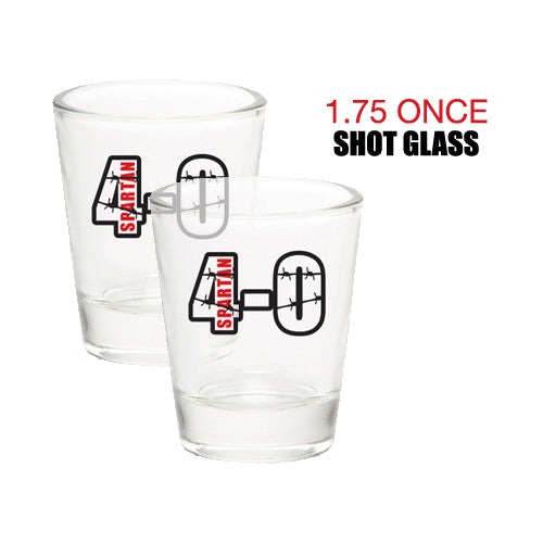 Spartan 4-0 Shot Glasses