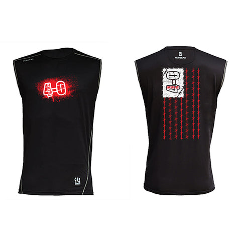 CLEARANCE ITEM - Spartan 4-0 MudGear Men's Fitted Race Jersey v3 Sleeveless Tee