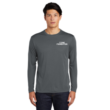 Stone Foundation Sport-Tek  Men's Performance Tee Long Sleeves Pre-Order