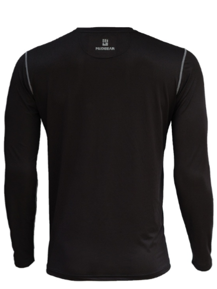 Black Spartans MudGear Men's Fitted Race Jersey Long Sleeve v3 Pre-Order