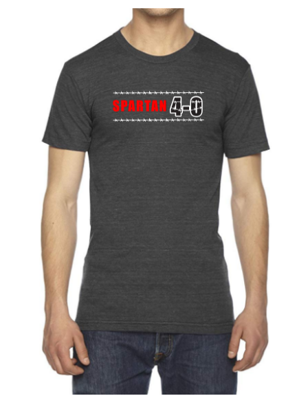 Spartan 4-0 USA Made Men's Tri-Blend Tee Pre-Order