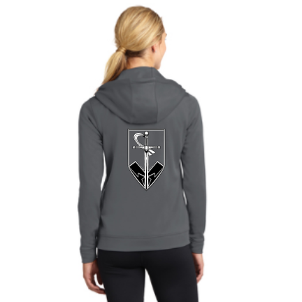 Stone Foundation Sport-Tek Ladies Sport-Wick Fleece Full-Zip Hooded Jacket Pre-Order